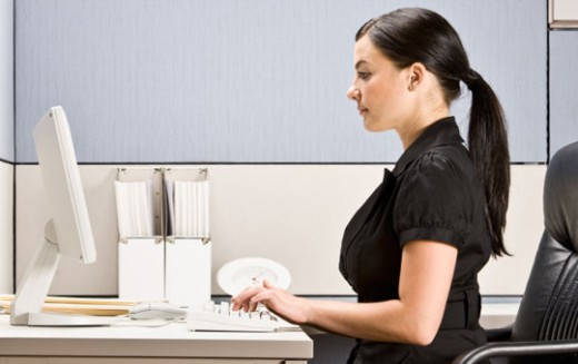 Good posture helps ease muscle tension which can cause stress-related pain.