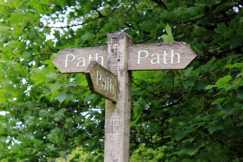 Path path path from hokadilly Source: flickr.com