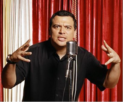 Carlos Mencia (Renowned for being accused of thieving routines from other comedians.)