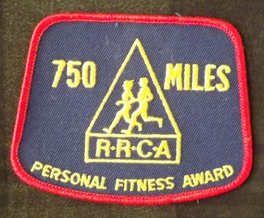 Road Runners Club of America Patch, ca 1976