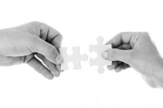 Allow others to help you put the pieces together.