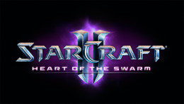 Starcraft 2 heart of the swarm logo Screenshot.
