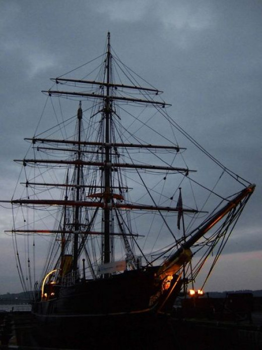 RSS Discovery - Dundee, Scotland