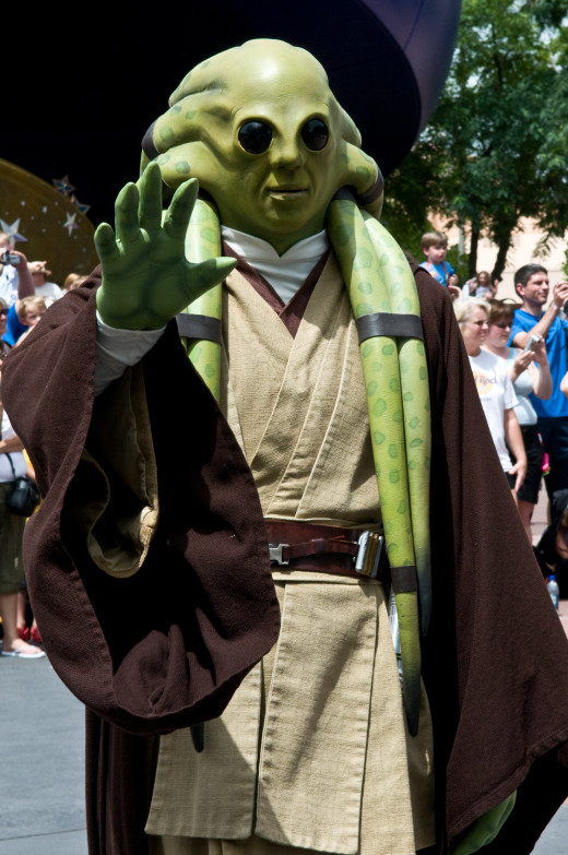 Kit Fisto: You never know who you'll run into at Disney's Star Wars Weekends