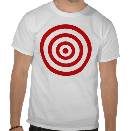 This target shirt is available on Zazzle bylaudenum. Click on the link below to go there.