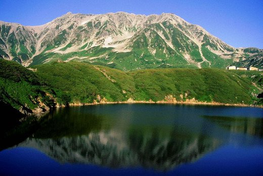 Mt. Tateyama of Japan