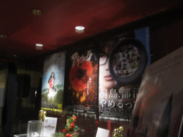 Posters of other Japanese movies that were showing at this festival.