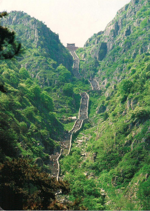 Mount Tai of China