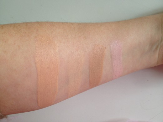Swatches of Maybelline Age Rewind Eraser