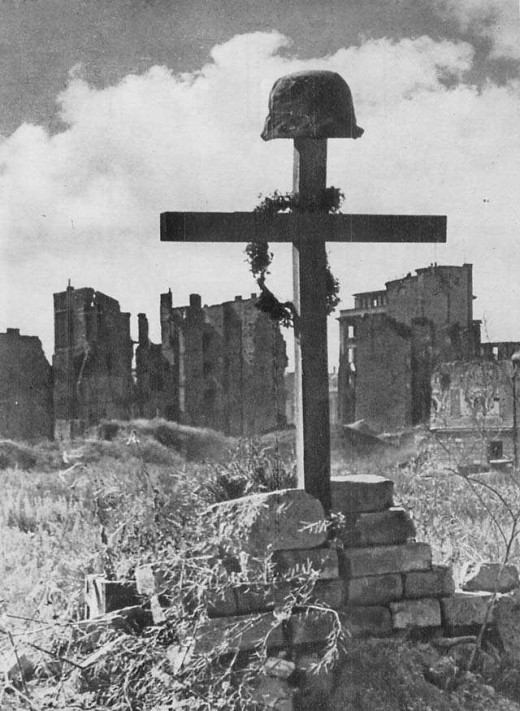A tragic result of the Warsaw Uprising