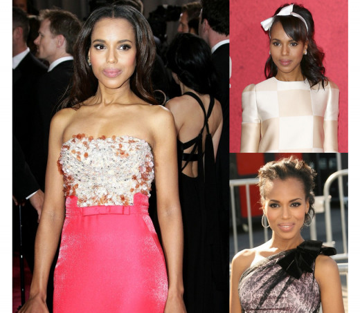 Kerry Washington, African-American actress photo gallery