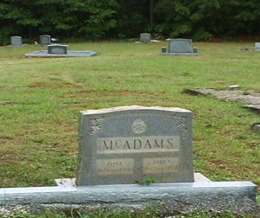 Pa Jim's gravesite