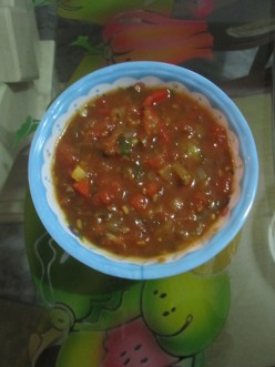 My Colombian Tomato Salsa