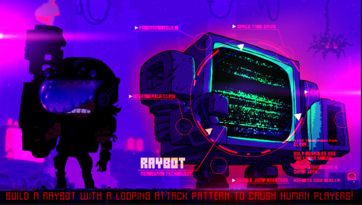 Cathode Raybots copyrighted by JohnnyUtah and Tom Fulp. Images used for review purposes only.