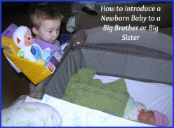 How to Introduce a Baby to a Big Brother or Big Sister