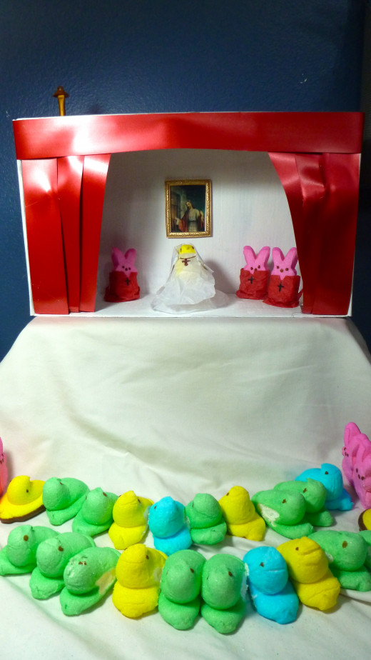 Add your Peeps and complete your diorama