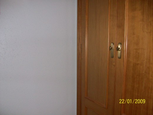 Pinewood wardrobe doors