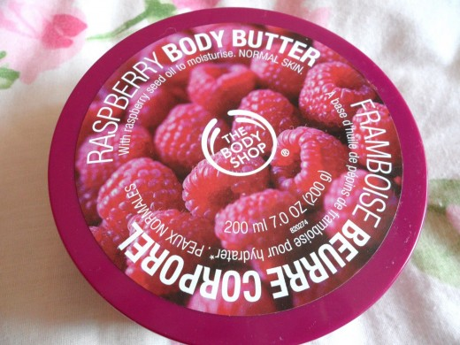 Rasberry Body Butter