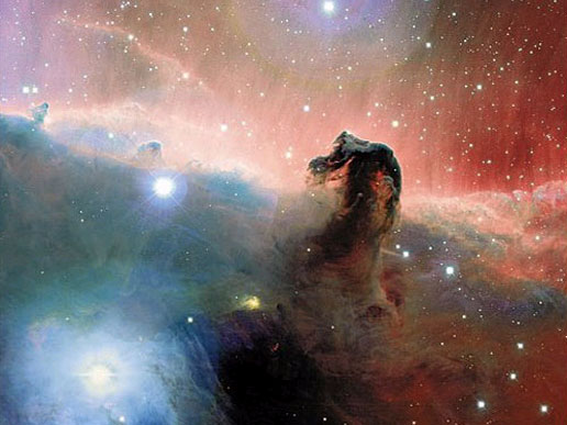 You can see why this is called the Horse Head Nebula
