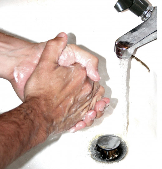 Repetitive handwashing is a common OCD