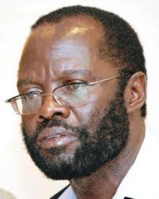 Prof. Peter Anyang Nyongo (Secretary General ODM, Senetaor elect 2013)