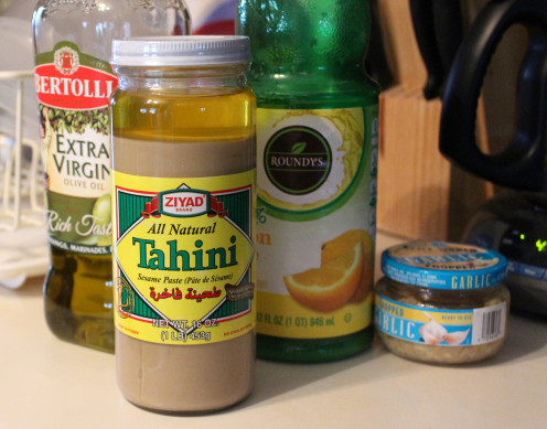Tahini is my favorite ingredient to add to hummus.