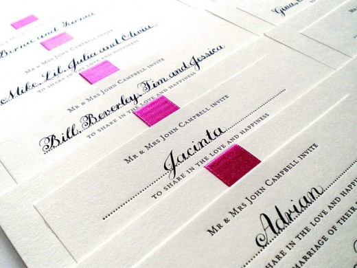 Proper Wording For Wedding Invitations