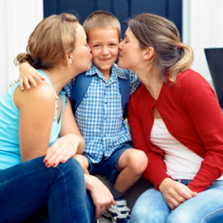 Teenage Children raised by Same-Sex Parents Developing Normally