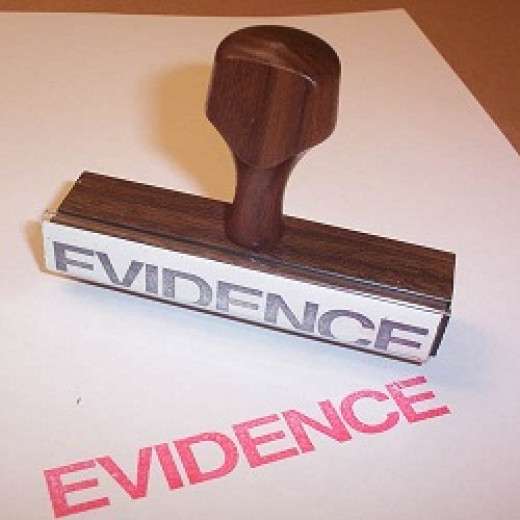 Where is the Evidence Against it?