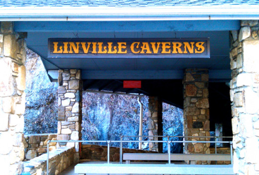 Entrance to the Linville Caverns, NC