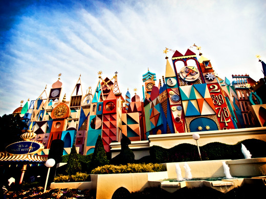 It's a Small World at Tokyo Disney.