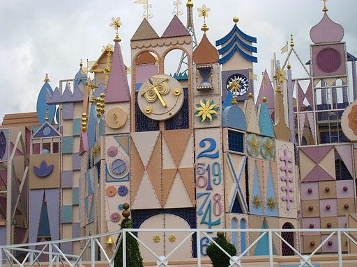 It's a Small World at Hong Kong Disneyland.