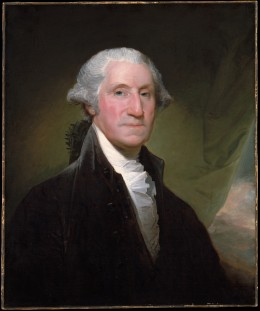 America's First President George Washington.