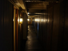 Long dark corridors may hide the spirits of the SS Great Britain.
