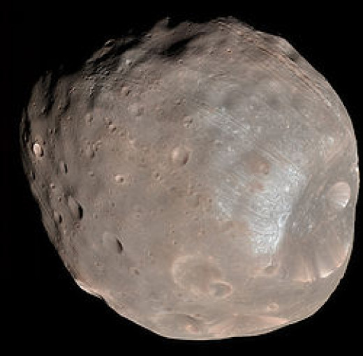 Phobos, one the Moons of Mars is controlled and mined by the Annunaki, the 'Gods' of ancient Earth.