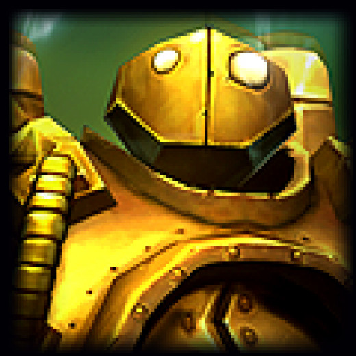 Ahhh, the beautiful Blitzcrank.