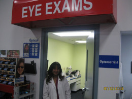 The elderly need annual eye and hearing exams.
