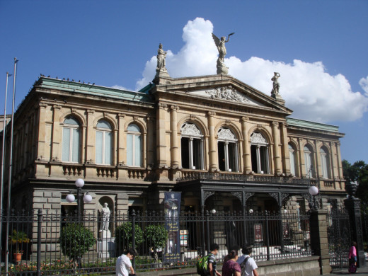 The National Theater.  If you are visitng the Gold Museum, you should stop by this national treasure which is on the Plaza Cultura.
