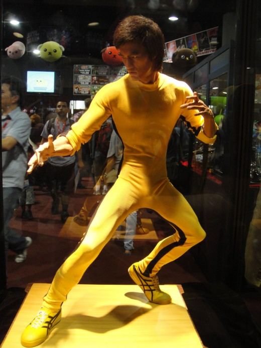 Bruce Lee figure from Comic Con 2010.
