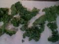 Kale drying