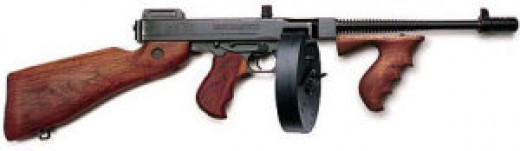 weapon used in PD Warsaw robbert