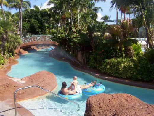 Kiddie Pool at the Atlantis Resort