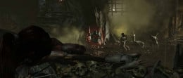Tomb Raider defeat the zombie like denizens of Geothermal Caverns