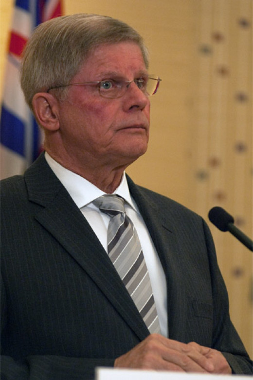 John Cummins, Leader of the BC Conservatives (March 2012)