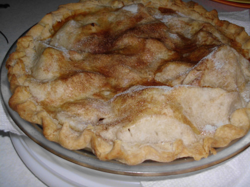 Apple pie or cobbler compliments Easter dinners