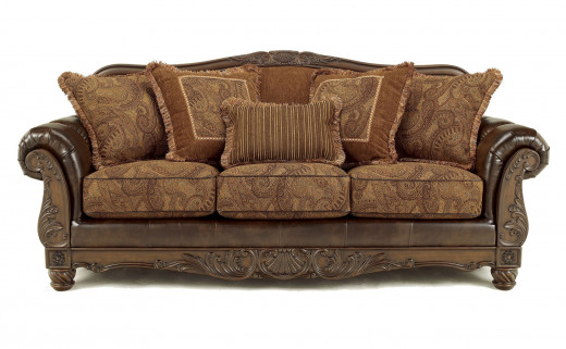 Another beautiful antique sofa.