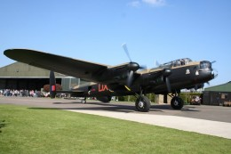 Lancaster Bomber - many crashed during WWII. Do they come back in ghostly form and are the flown by the spirits of the crew?