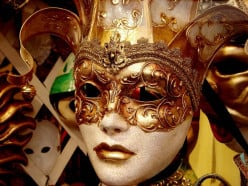 Venetian traditional Golden Cultural analysis - Masks, Balls and French Influence