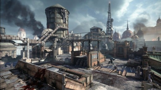 Skyline, the map where the OverRun beta is played