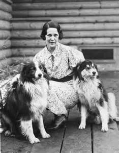 Nan Wanatka and her dogs